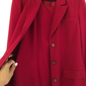 TRIO NY Two Pc Sheath Dress + Overcoat Sz12